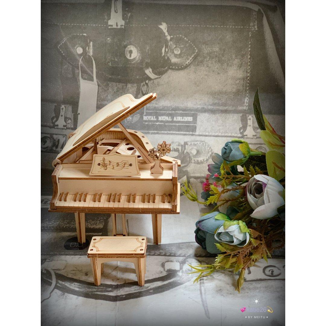 Robotime 3D木质小钢琴
