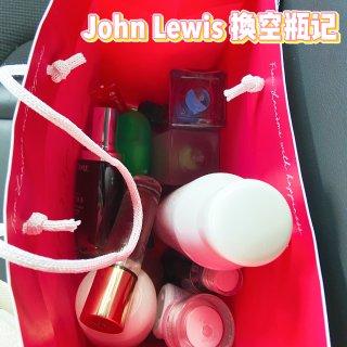 John Lewis空瓶换钱薅羊毛~...
