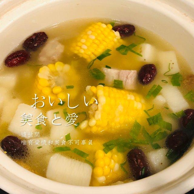 美食分享|冬日滋补~玉米山药排骨汤🌽