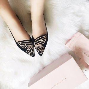 蝴蝶平底鞋