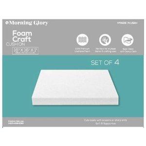 Morning Glory Foam Seat Cushions 4-Pack, 16