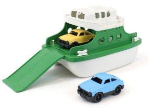 $11Green Toys Ferry Boat Bathtub Toy, Green/White, 10