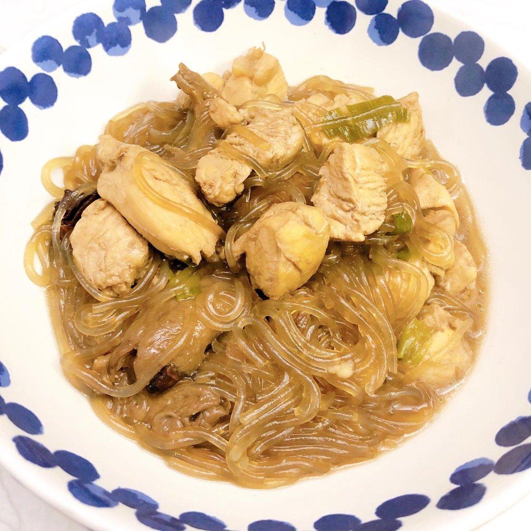 4.4 榛蘑鸡肉炖粉条