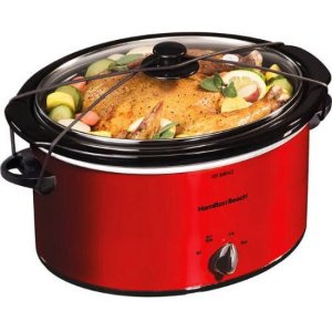 $17.88Hamilton Beach 5 Quart Portable Slow Cooker
