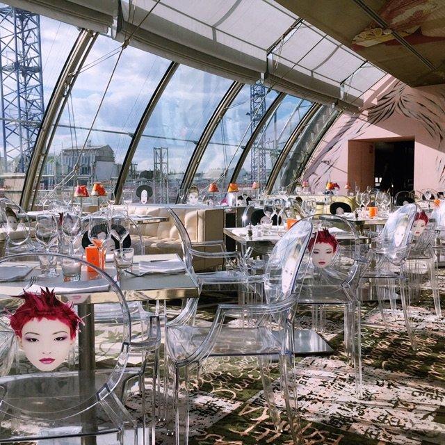 巴黎网红餐厅Kong. <br /...