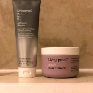 三重清洁洗发水,修复发膜