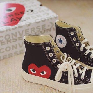 CDG Play x Converse ...
