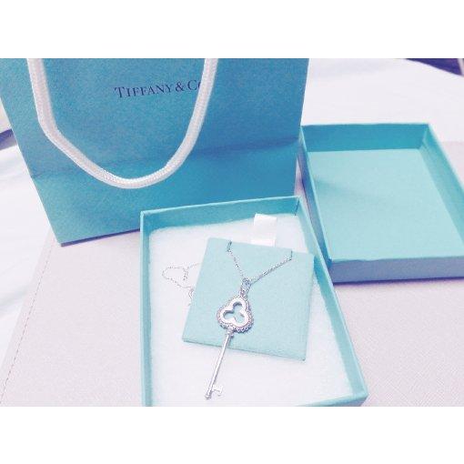 永远的一抹Tiffany蓝---解开心锁定的项链