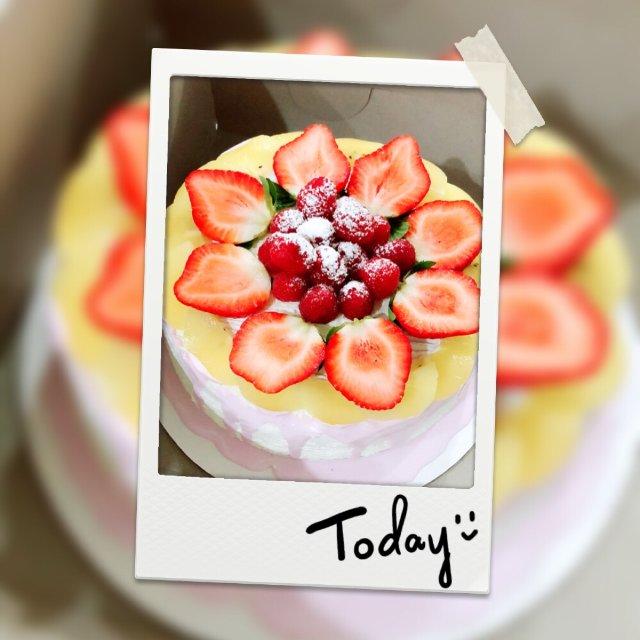 蛋糕狂魔又来啦!水果鲜奶蛋糕,我最...