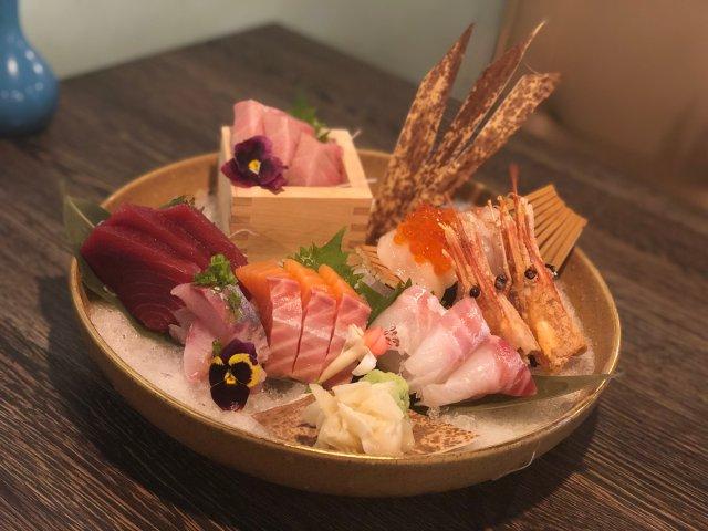 离开奥兰多之前的Sushi