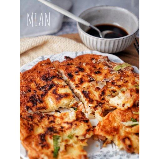 自制去韩餐🇰🇷必点的海鲜煎饼🦞🦑🦐