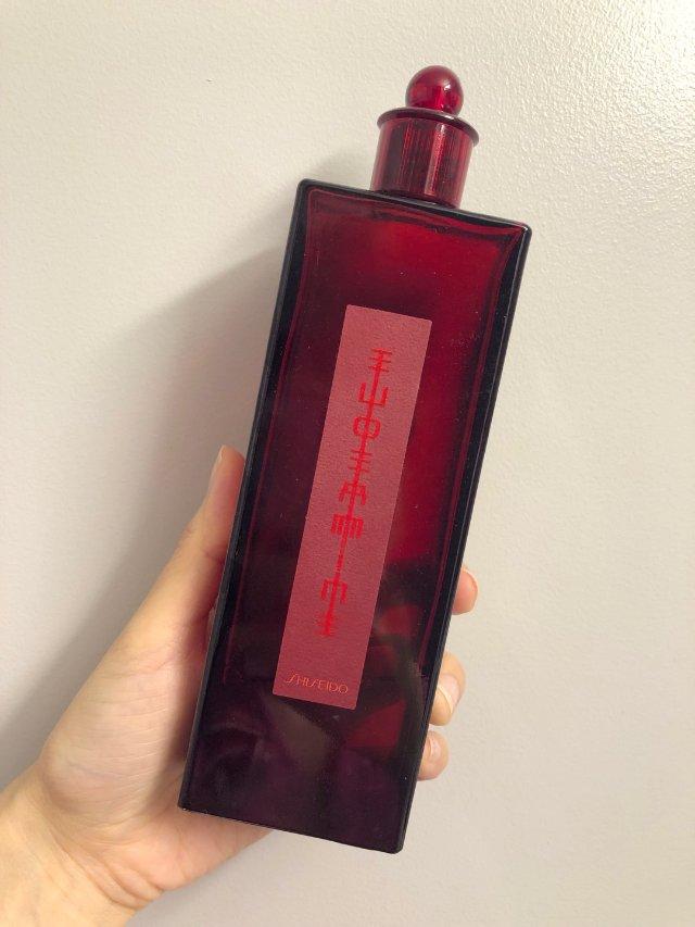 用到快空瓶的资生堂红蜜露 | 可见是真爱