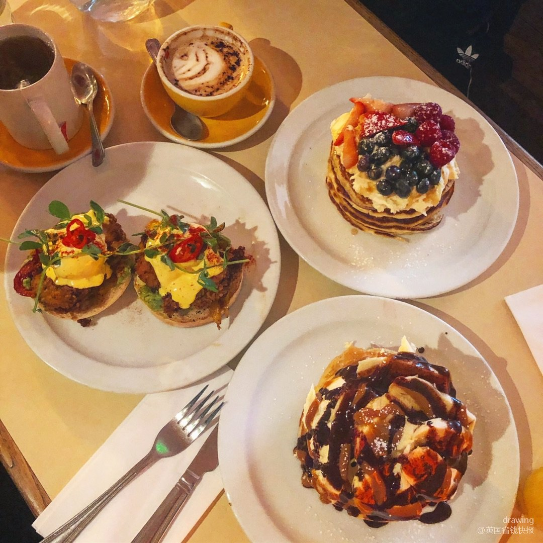 伦敦探店🇬🇧the breakfast ...