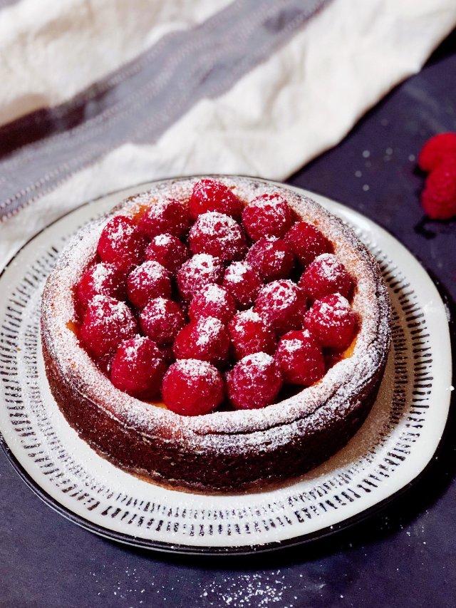 自制烤芝士蛋糕 超简单超好吃