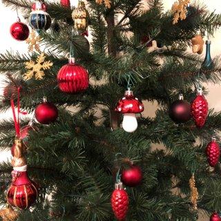 圣诞树🎄装饰起来...