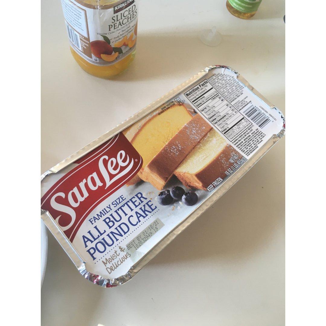 Sara Lee 磅蛋糕