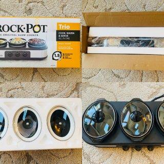 Crock-Pot慢炖锅,一锅三吃的体验