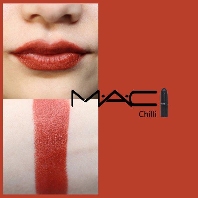 试色|MAC MATTE LIPS...