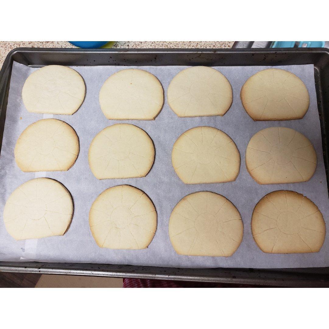 感恩节火鸡糖霜饼干