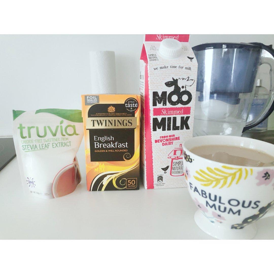 好喝不长胖的自制阿萨姆奶茶...