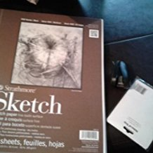 Amazon.com: Strathmore Series 400 Sketch Pads 9 in. x 12 in. - pad of 100: Arts, Crafts & Sewing