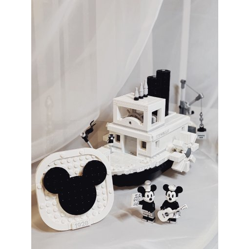 LEGO X MICKEY 🚢『米奇的威利号蒸汽船』