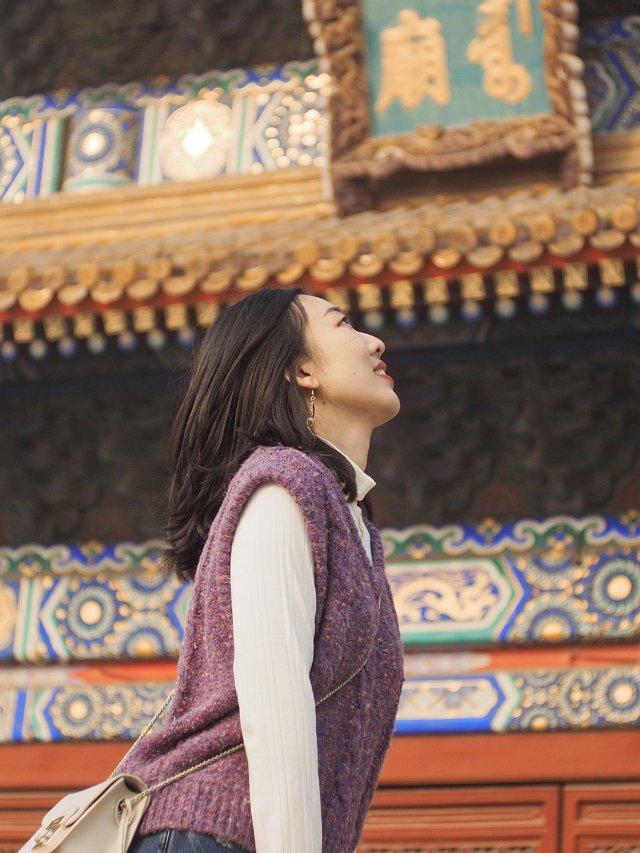 ❤️🤎 || 跟我在北京的街头走一...