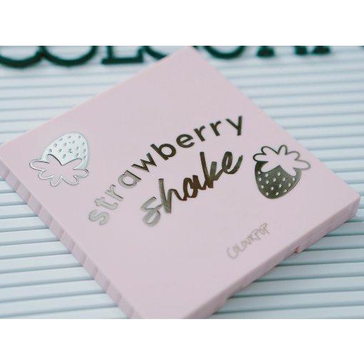 热乎的试色🍓Colourpop草莓奶昔盘