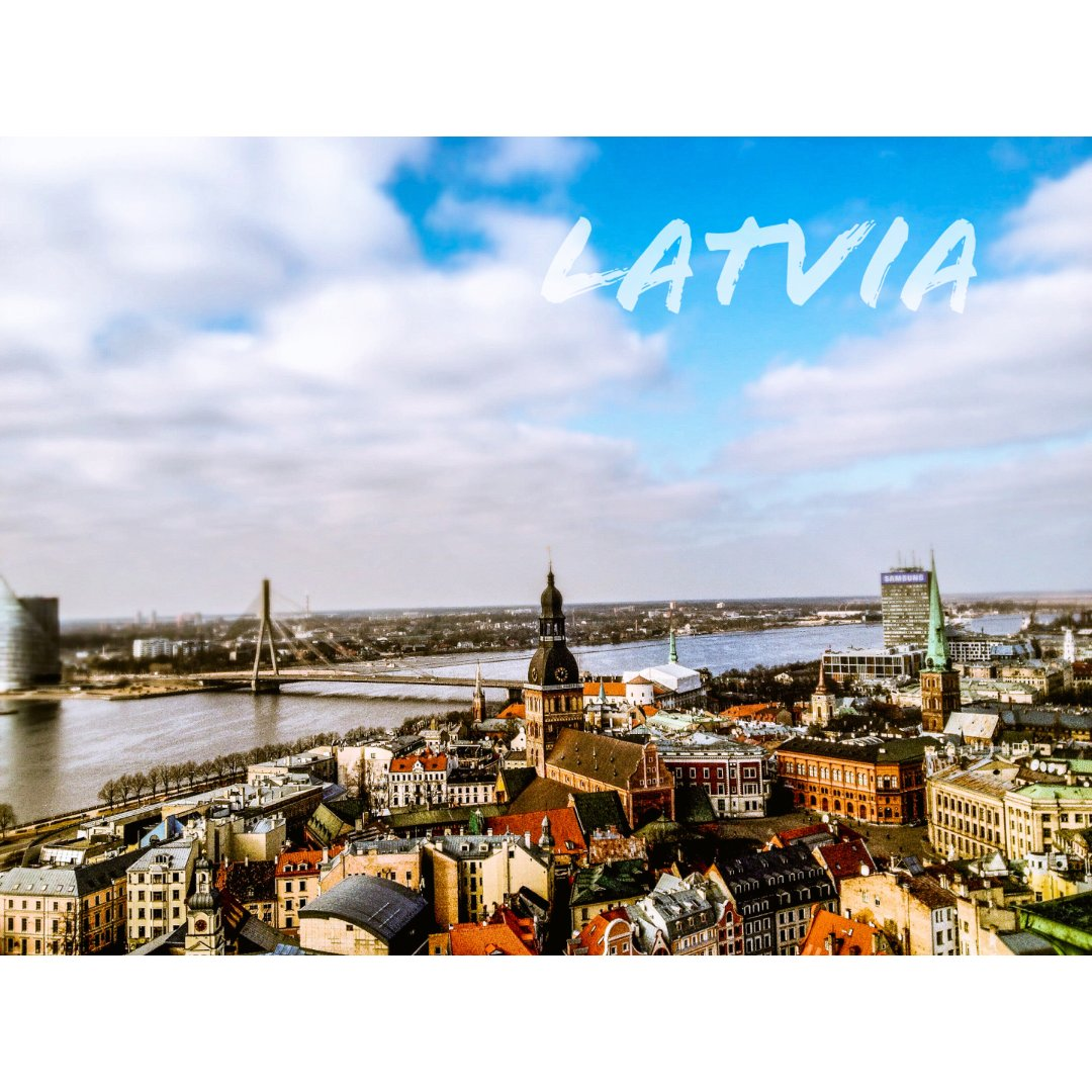 拉脱维亚🇱🇻:东欧老城 里加是彩色🌈的