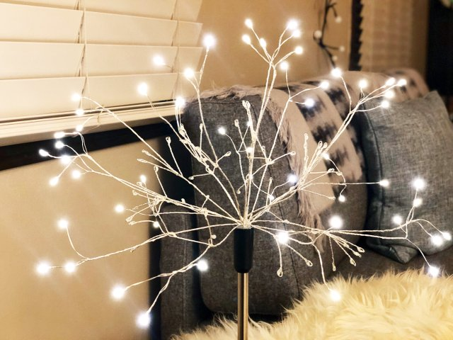 烟花灯 - 轻松打造节日的气氛