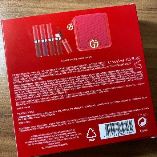 阿玛尼唇釉套盒 200-400-405-501
