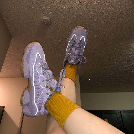 Adidas Yeezy500 行走的紫色精灵🧚♀️