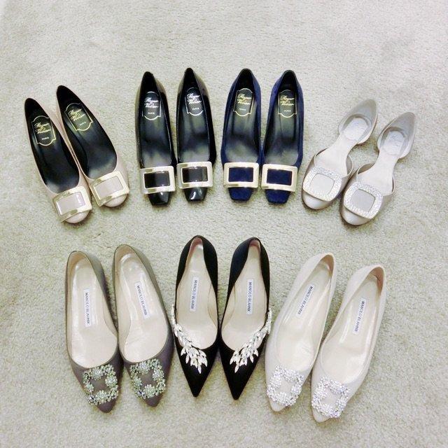 在整理尖头鞋之前 先把这段时间收的...