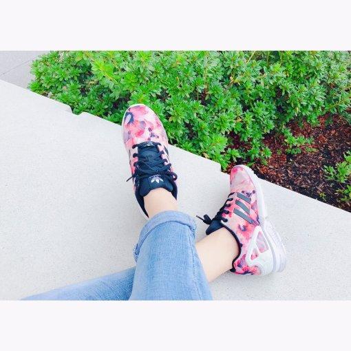 【美鞋打卡第3天】Adidas樱花🌸运动鞋