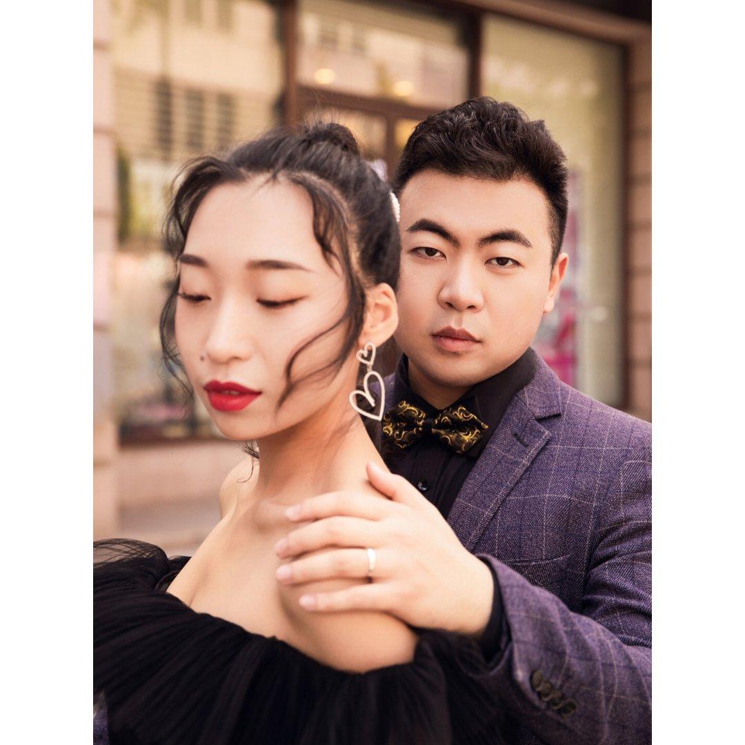 婚纱照拍照经验分享 | 我超爱的街拍风!