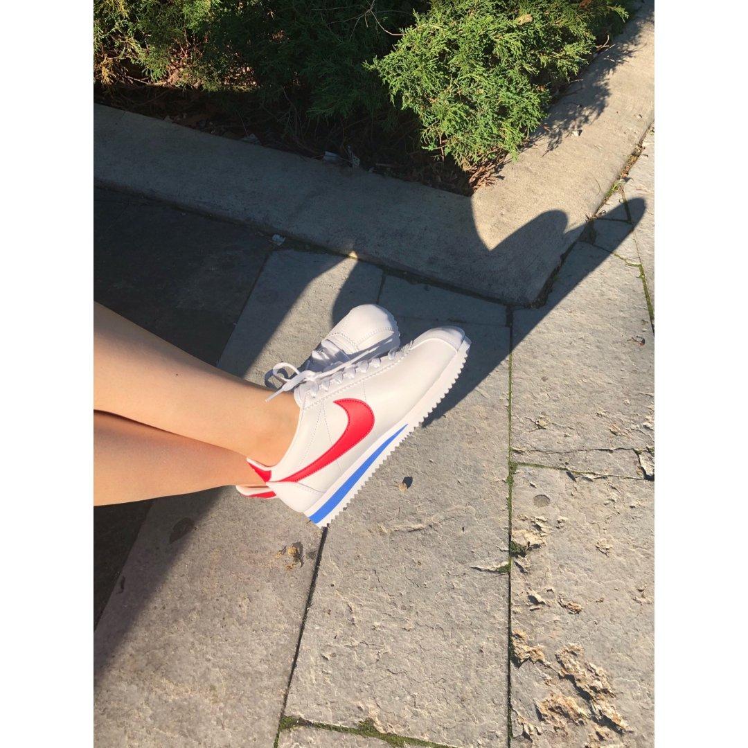 Nike阿甘鞋 百搭的小白鞋走起