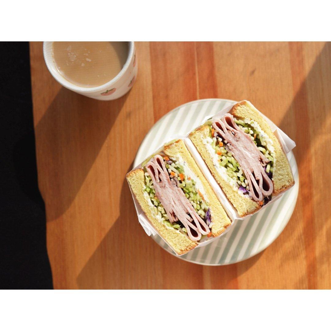 早餐|自从学会包三明治🥪