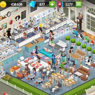 每天打开一百遍的小游戏:my cafe...