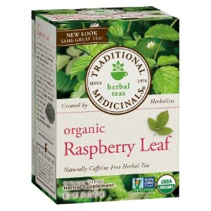 Traditional Medicinals Organic Raspberry Leaf Herbal Tea 16 ct : Target