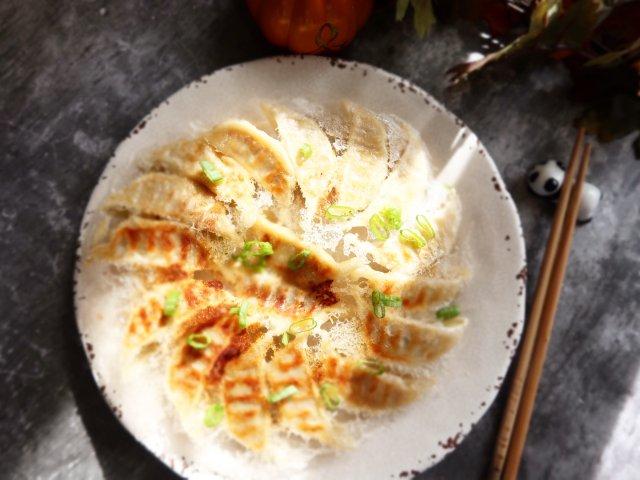 快手菜-冰花煎饺