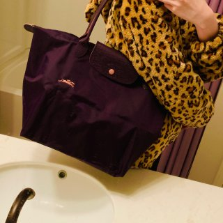 Longchamp无法忽略的🍇葡萄紫...