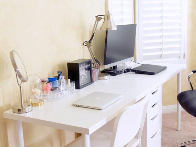 卧室双人书桌大改造
