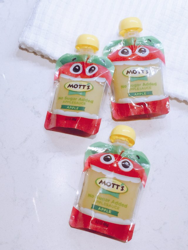Mott's喝的蘋果泥2️⃣8️⃣