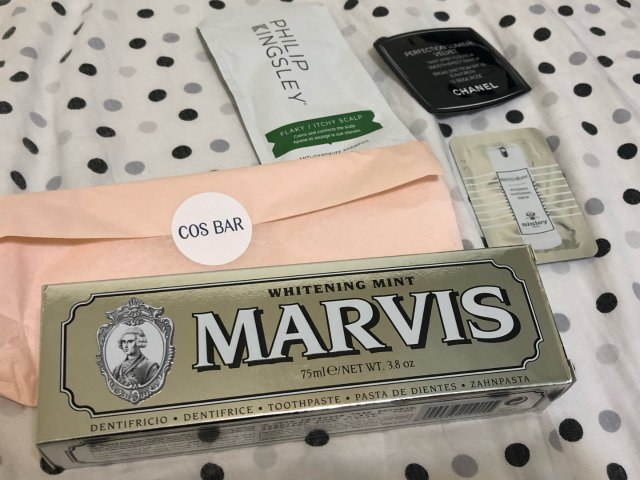 Cos Bar买什么:Marvis牙膏