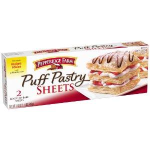 Pepperidge Farm Puff Pastry Frozen Sheets Pastry Dough, 2 Count, 17.3 oz. Box - Walmart.com