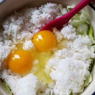 一日三餐吃什么之---咸鱼鸡丁炒饭...