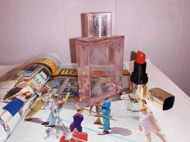 我也去马勺淘宝去了 第一单 巴宝莉香水