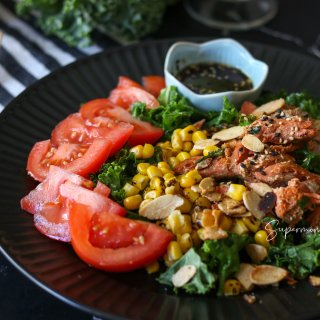 ♥️从剩菜到好吃到要抢的三文鱼沙拉♥️...