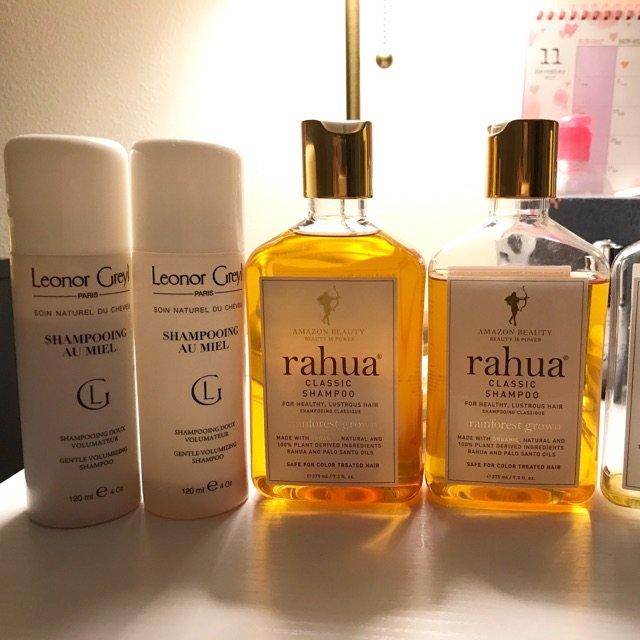 Rahua和LG蜂蜜洗发水一开始用...