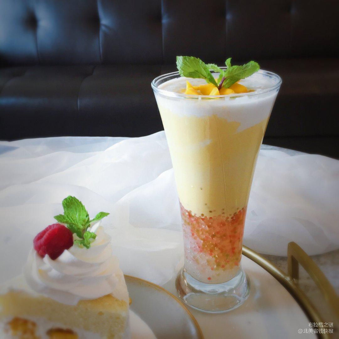 ✨下午茶时光 | 一杯芒果椰奶西米...